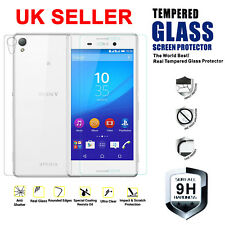 Tempered Glass Screen Protector for Various Sony Xperia Mobile Phones (+ case)