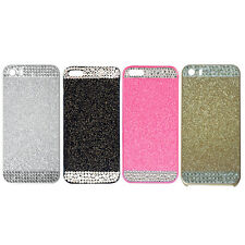 3D Glitter Crystal Rhinestone Hard Case Cover for iPhone5/5S/6 SI