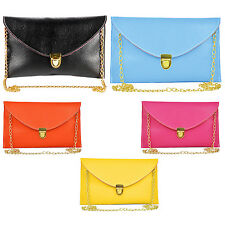 Women Envelope Clutch Chain Purse Handbag Shoulder Messenger  SI
