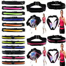 Waist Bum Bag Sports Pack Belly Fitness Running Jogging Cycling Belt Pouch CHI