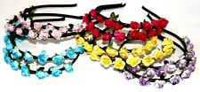 GIRLS WOMEN BEAUTIFUL NEW HAIR BAND HEADBAND ALICE BAND WITH BEAUTIFUL FLOWERS