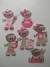 3D - U Pick - Ginger Sugar Spice Utensils Cook Scrapbook Card Embellishment 490