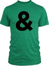 Big Texas Ampersand (Black) Vintage Tri-Blend T-Shirt