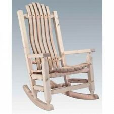 Solid Wood Rocking Chair. Shipping is Free