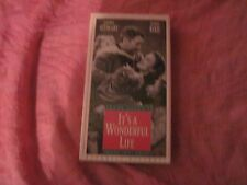 It's a Wonderful Life (VHS) Uncut Version  James Stewart, Donna Reed  NEW SEALED