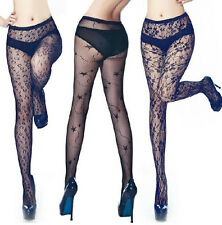 Hot Sale Women Black Sexy Fishnet Pattern Jacquard Stockings Pantyhose Tights