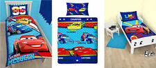 Disney Cars Childrens Junior Single Double Quilt Cover Duvet Cover Bedding Sets