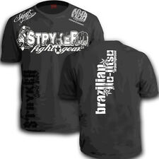 Stryker Fighters Shorts Sleeve T-Shirt Muay Thai BJJ Top UFC W FREE Tapout Decal
