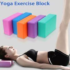 Yoga Block Foam Brick Pillow Stretching Aid Gym Pilates For Exercise Fitness 1Pc