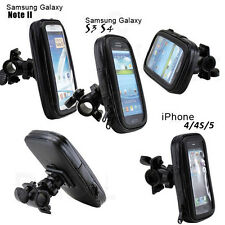 360°Universal Motorcycle Bicycle Bike Handlebar Mount Holder For Cell Phones GPS