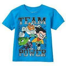 TEEN TITANS Boys 4 5 6 7 10 12 14 16 18 20 SHIRT Tee Top