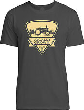 Big Texas Farm Living (Brown) Mens Fine Jersey T-Shirt
