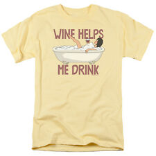 BOBS BURGERS WINE HELPS Officially Licensed Men's Graphic Tee Shirt SM-3XL