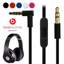 Replacement 3.5 mm Audio Cable Cord Wire w/ Mic for Beats by Dr. Dre Headphones