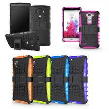 Rugged Armor ShockProof Heavy Duty Dual Layer Tough Stand Case Cover For LG