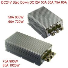 DC24V Step Down12V 50A 60A 75A 85A Power Supply Converter Module Waterproof New