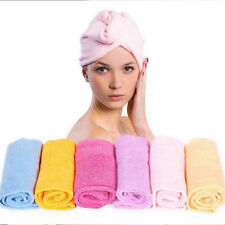 1Pcs Water Absorbent Microfiber Suck Cleaning Towel Wash Clean Cloth 4 Colors