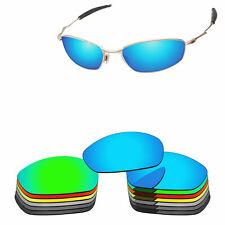 Polycarbonate Replacement Lense For-Oakley Whisker Sunglasses Multi-Options