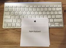 Apple Wireless Bluetooth Aluminum Keyboard Model A1314 Genuine Authentic