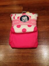 NEW Infant Todder Girls Gerber Training Pants - Pink Polka Dot 2 Pack - 2T or 3T