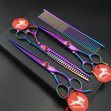 8 inch Happy dog SUS440C PET Grooming scissors Cutting&Curved&Thinning shears