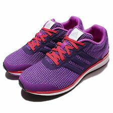 adidas Lightster Bounce W Purple Red Womens Running Shoes Sneakers BA8499