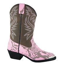 Smoky Mountain Kids Cody Snakeskin Print Western Boots - Child or Youth
