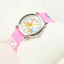 3D Cartoon Lovely Children Students Anime Pepa Pig Casual Quartz Wrist Watch New