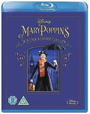 Mary Poppins 50th Anniversary Edition New & Sealed Blu Ray