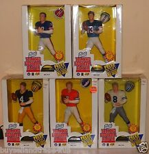 "Complete Set of 5 Collectable ""1996 Best Talking Football Players"""