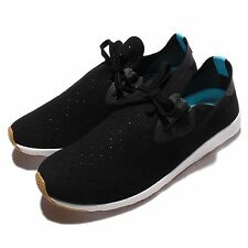 Native Apollo Moc Jiffy Black White Suede Mens Casual Shoes Sneakers 024001106