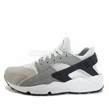 Nike WMNS Air Huarache Run PRM [683818-009] NSW Running Pure Platinum/Grey-Black
