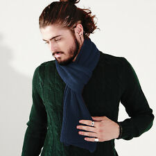 Beechfield Metro Knitted Scarf BC469 Snug Ribbed Knit Scarves Fashion Fit Unisex