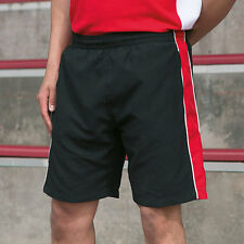 Finden & Hales LV860 Piped Shorts Mens Golf Football Sports Wear Comfort Shorts