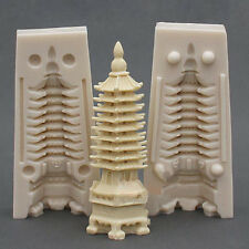 Candle Mold Soap Molds Silicone Soap Making Molds Craft Resin Mold 3D Tower