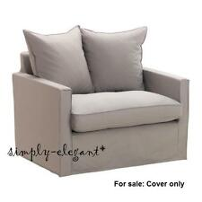 Ikea HARNOSAND Armchair Slipcover - Olstorp Sand New sealed pkg ( Cover only )