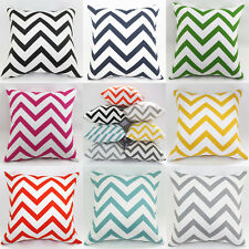 Fashion Geometric Solid Pillow Case Square Waves Cushion Covers Home Sofa Décor