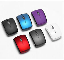 Folding Mouse Mini USB 2.4Ghz Transceiver Optical Foldable Folding Arc Wireless