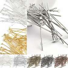 30g(100-450pcs)Plated Silver Gold Head Pin Ball Pin 14-70mm Finding