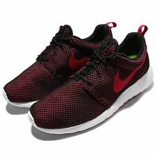 Nike Roshe One Gym Red Black Rosherun Mens Running Shoes Sneakers 511881-604