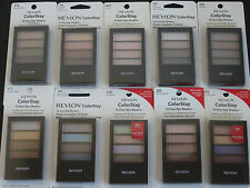 REVLON ColorStay 12 Hour Eye Shadow Quad Color Stay Discontinued You Pick Color