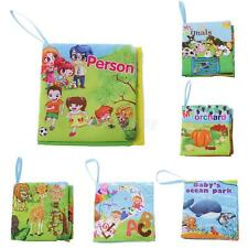 Colorful Cute Soft Cloth Book Cognize Books Toddler Baby Learning Toys