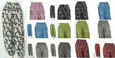 HIPPIE BOHO floral harem gypsy yoga belly dance trousers thai fisherman pants