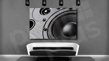 Multimedia Speaker Close Up Art Canvas Poster Print Home Wall Decor