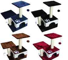 4 Colors Cat Tree Condo Furniture Scratch Post Perch Pet House Newest Castle New