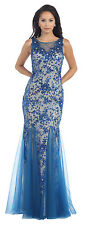 TheDressOutlet Long Ballgown Formal Prom Dress Evening Gown Party