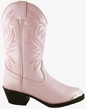 Smoky Mountain Boots Youth Girls Mesquite Pink Faux Leather Western