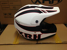 MOTOCROSS HELMET MOTO X DIRT BIKE XRH AS/NZS 1698 APPROVED MATT WHITE FREE POST
