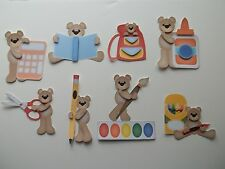 3D-U Pick-School Bear Calculator Paint Scrapbook Title Card Embellishment 920