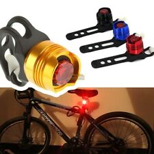 Bicycle Cycling Bike Helmet Front Rear Tail Light Safety LED Warning Lamp New